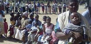 Zimbabwe: from 40% unvaccinated to 4%